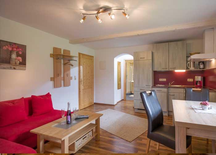 appartement-wilder-kaiser-wohnküche